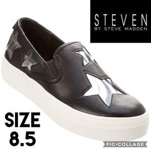 Steven Steve Madden Gaia Star Sneakers Size 8.5